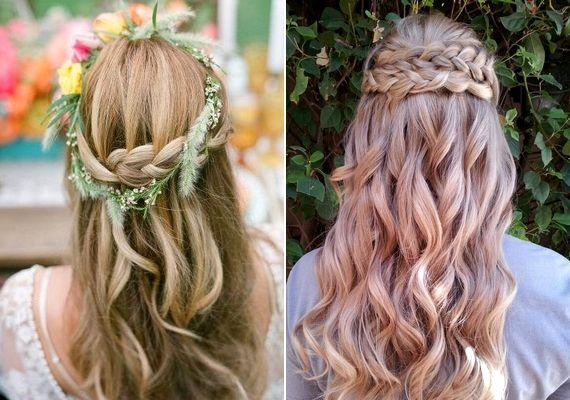 Bájos és romantikus fonott frizurák az esküvőre | retikul.hu