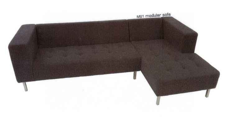 Modular sofa, design by Melanie Hall. #melaniehall #melaniehalldesign #sofa #furniture #design