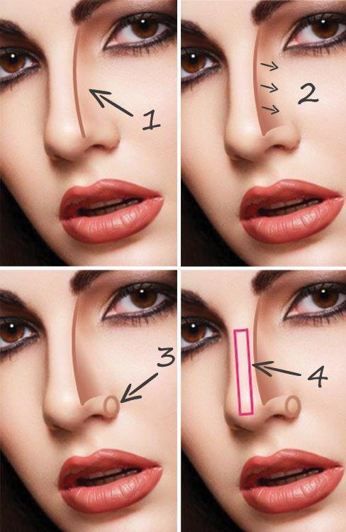 25+ Best Ideas About Nose Contouring On Pinterest
