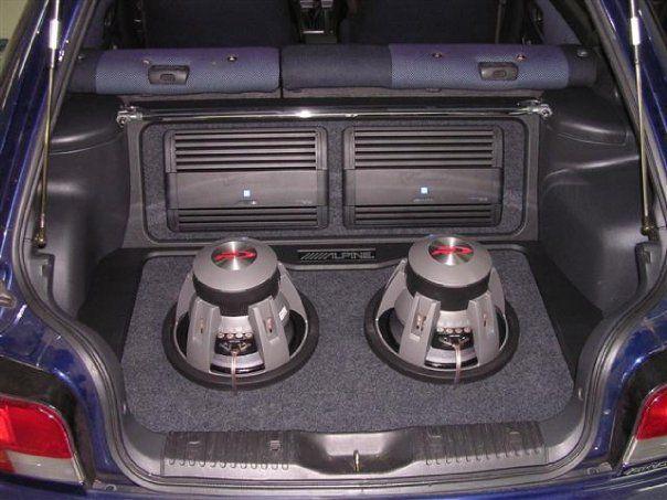 Custom install in 1999 WRX Wagon