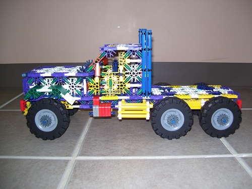 Semi Truck Knex Semi Truck Instructions