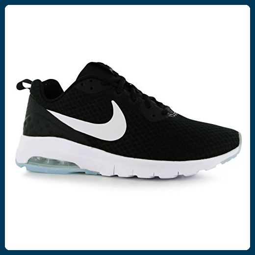 Nike Air Max Motion leicht Training Shoes Damen BLK/WHT Trainer Sneakers, schwarz / weiß, (UK5) (EU38.5) (US7.5) - Sneakers für frauen (*Partner-Link)