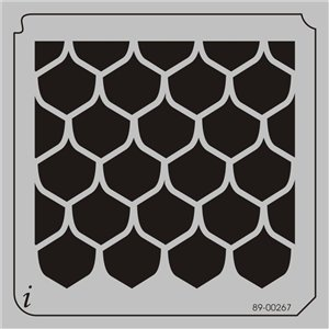 79 best images about stencils for misting ink on pinterest for Fish scale stencil