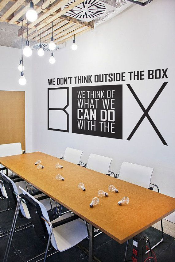 wall decal, wall stickers , wall quotes , office decal , quote decal