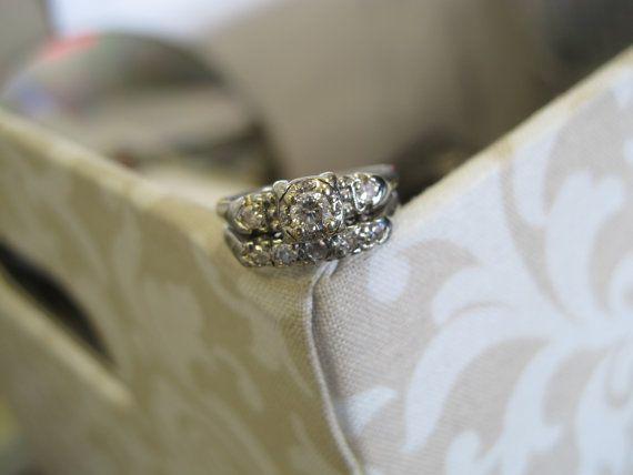 8 best vintage wedding ring images on Pinterest