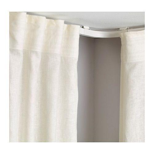 Les 25 meilleures id es de la cat gorie rideaux fen tre d 39 angle en exclusivit sur pinterest - Tringle a rideaux d angle ...