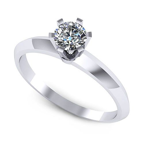 Inel logodna F111ADI * Piatra principala: 1 x diamant, dimensiune: ~4.50mm, greutate: 0.35ct
