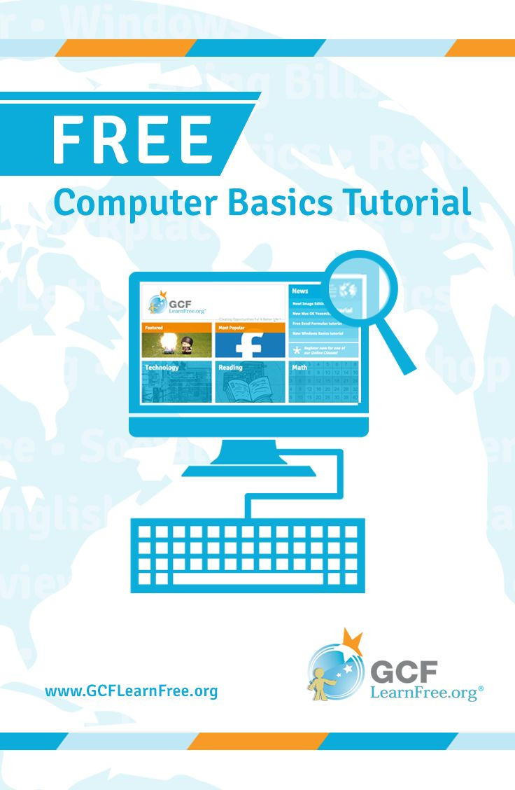 Are you new to using computers? Do you wonder what people mean when they say the cloud, Windows, or Lion? Perhaps you would just like to know more about how computers work? When it comes to learning today's technology, this free tutorial from @GCFLearnFree.org has the basic concepts covered.