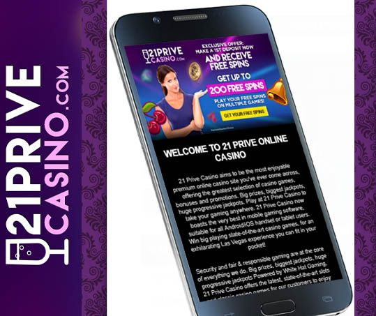 Play #21PriveOnlineCasino Games on the Go  21Prive Online Casino offers a vast range of top slots games that can be played with mobile compatible devices anywhere at any time.  https://www.playcasino.co.za/blog/play-21prive-online-casino-games-go/