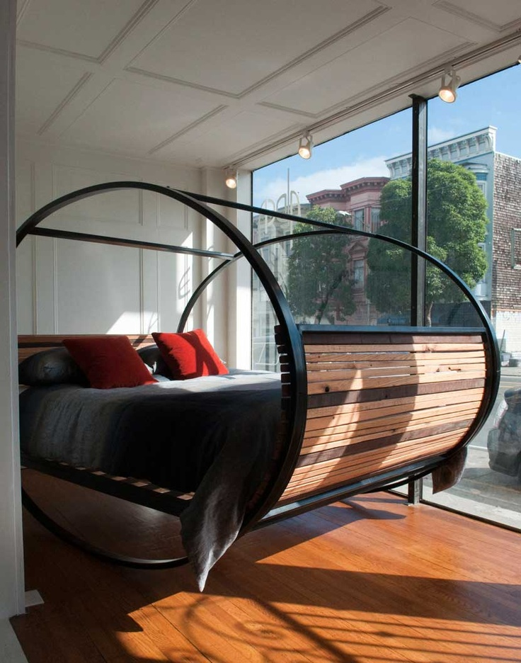 The rocking-bed (literally) at Aldea Home