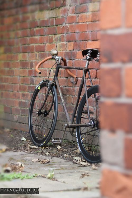 """harveyfulfordphotography: """" The Rat look Raleigh Rudge, done to my specs. Different! """""""