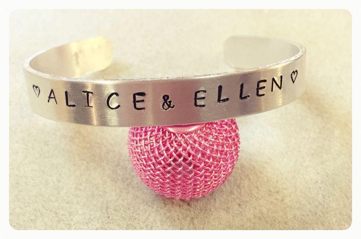 Stansat armband by Jiska Design