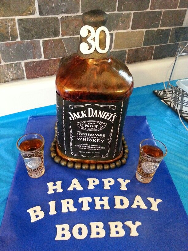 Jack Daniels And Coke Flavored Cake