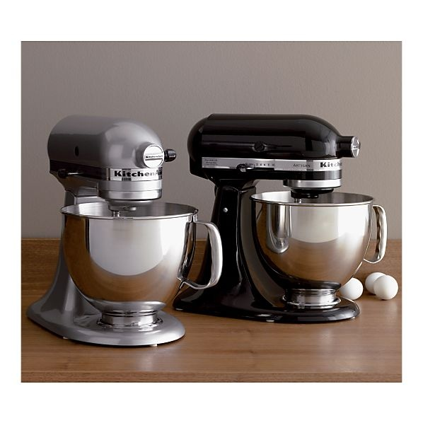 The Kitchen Aid stand mixer is the most popular large home mixer in the United States. It is a fine piece of equipment, big and powerful, and easy to use.