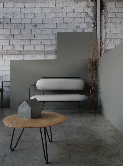 barco bench & cofee table by morphos designs