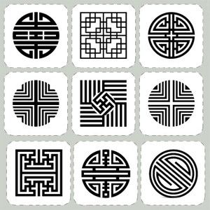 Korean traditional pattern