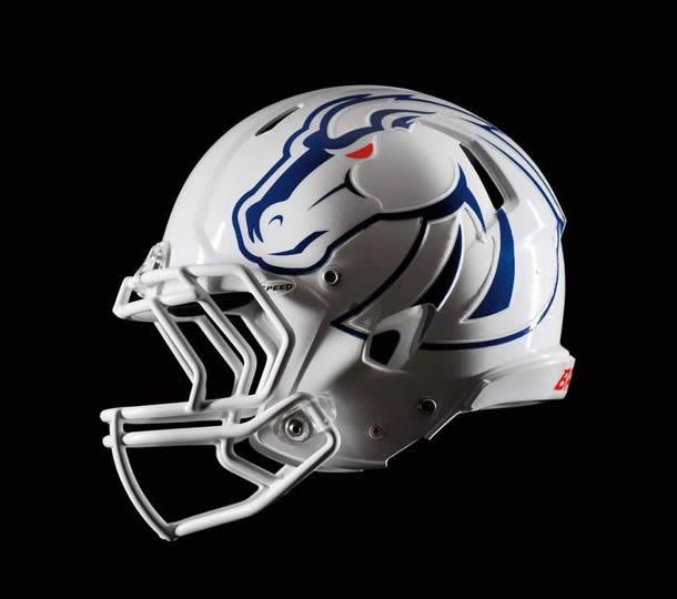 BSU Football Helmet