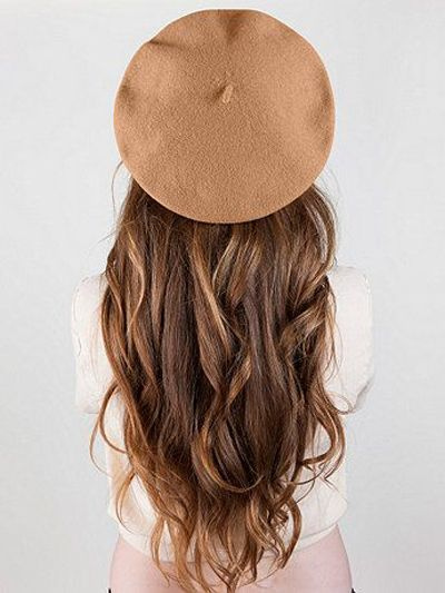 you can never go wrong with a classic beret