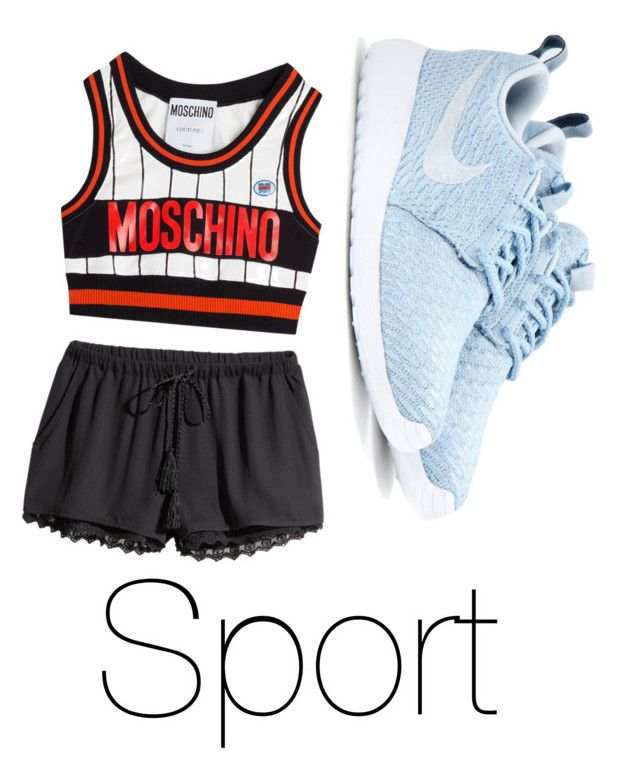 """""""Sportieve outfit"""" by hibatje on Polyvore"""