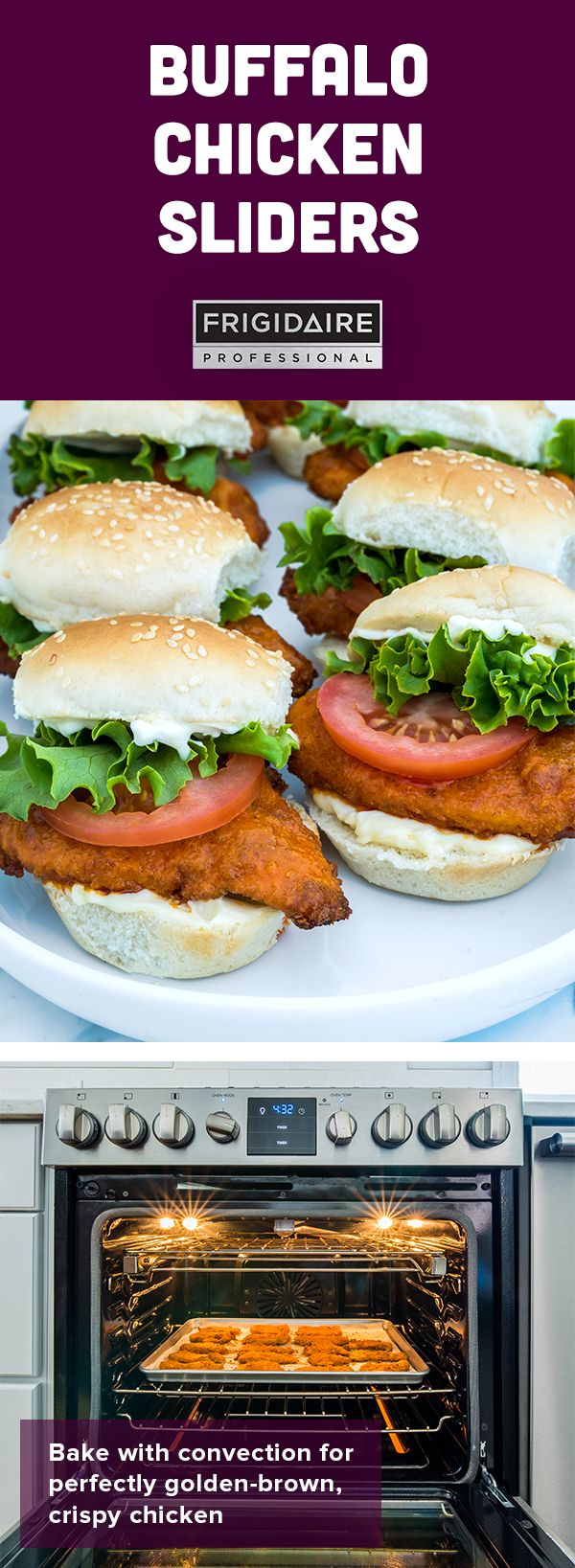 These buffalo chicken sliders have all the classic flavors of your favorite chicken wings, burgerized and ready to feed a hungry crowd at your next homegating party. Click for full recipe by @dennisprescott.