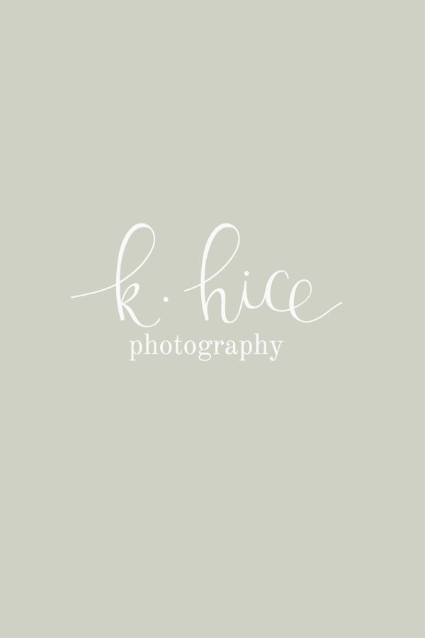 K Hice Photography Feminine Logo Design By Bea Bloom