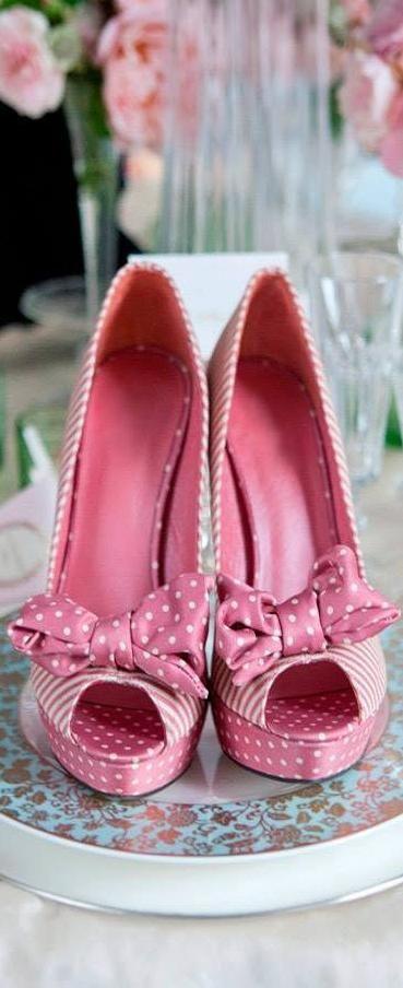 Pink Polka Dot Beauties | LBV ♥✤ | KeepSmiling | BeStayElegant