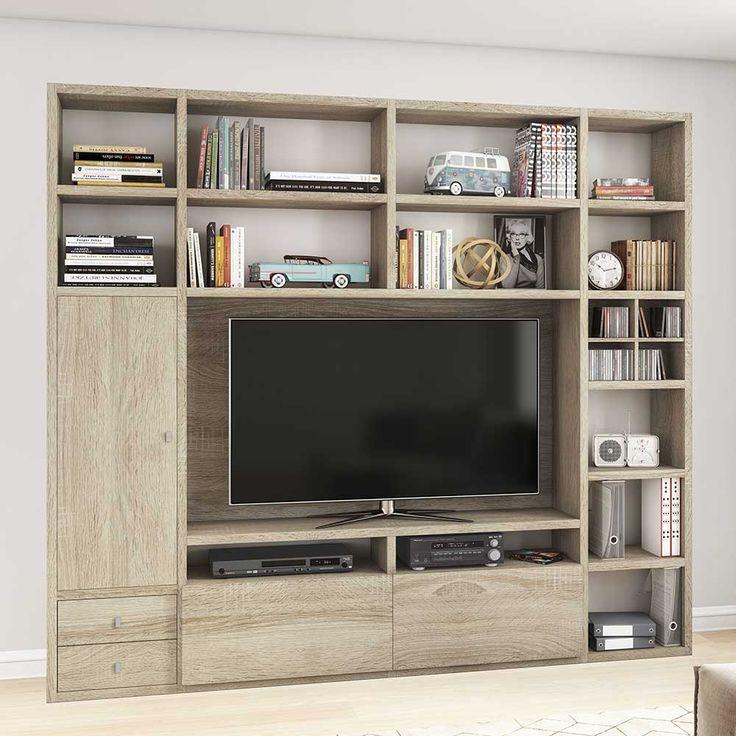 TV Wände online kaufen   Möbel Suchmaschine   ladendirekt.de   Regalwand, Wohnzimmer stauraum ...