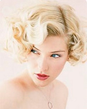 coiffure mariage rétro glam