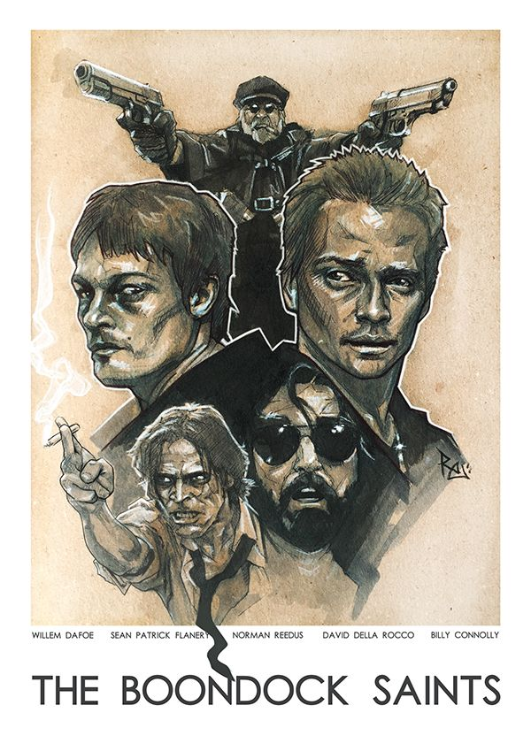 The Boondock Saints - movie poster - Robert Ekblom