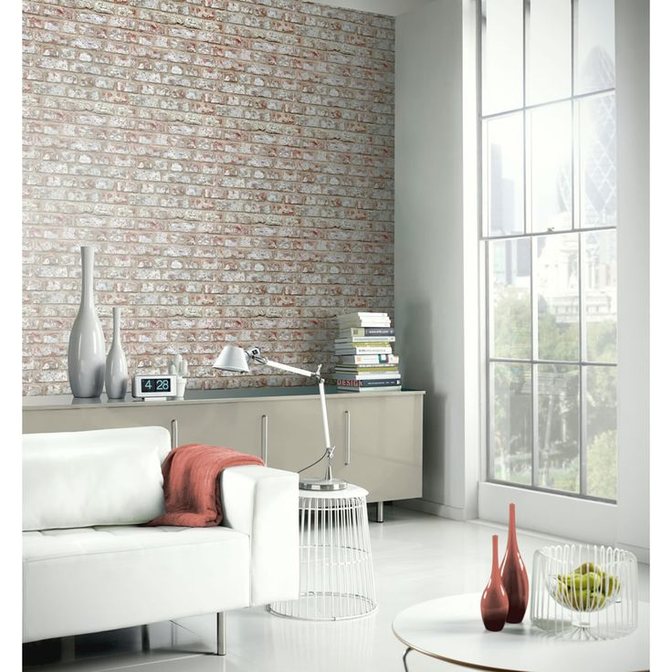 Arthouse Wallpaper Rustic Brick. Rustic WallpaperNeutral WallpaperBrick  Effect WallpaperLiving Room ... Part 74