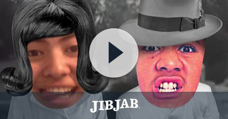 Why just watch a Halloween horror classic when you can star in it? JibJab puts a speedy twist on the blood-curdling tale of slow, lurching zombies.