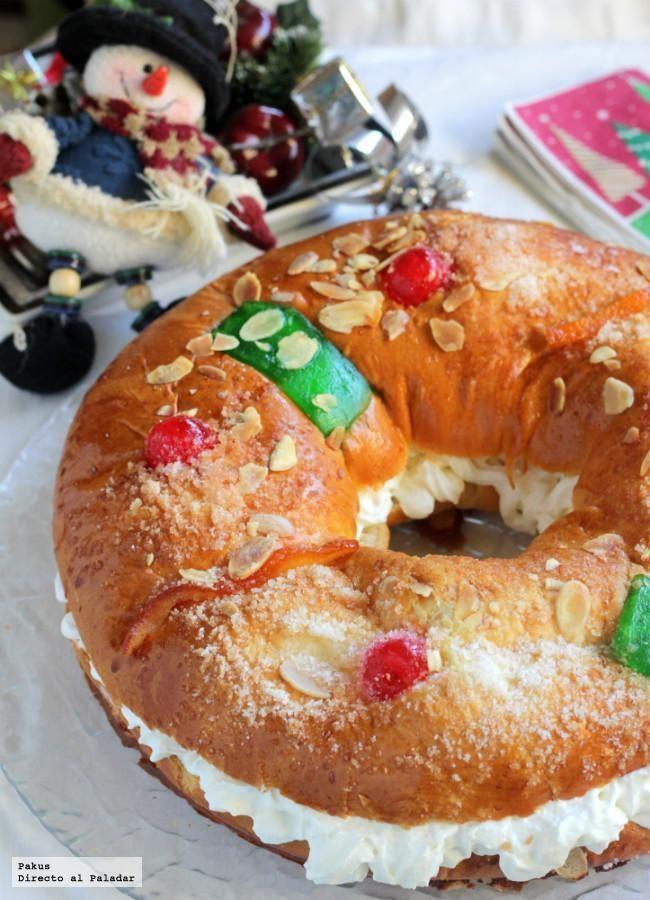 Roscon Sin Gluten Receta Relleno