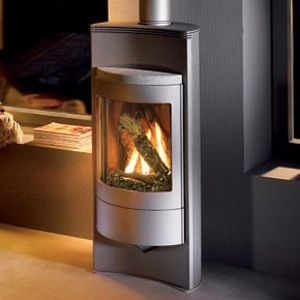 Great Looking Free Standing Wood Burning High Efficiency