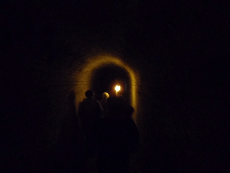 Túneis medievais...