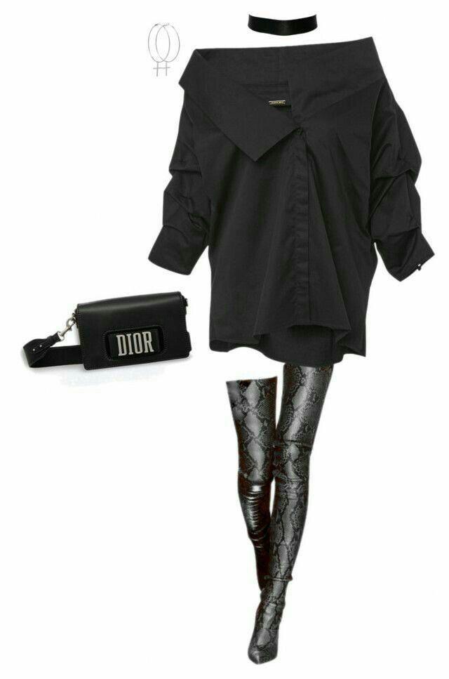Trendy edgy women's fashion #edgywomensfashion
