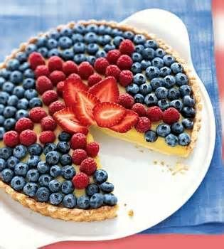 4th of July cheesecake!!