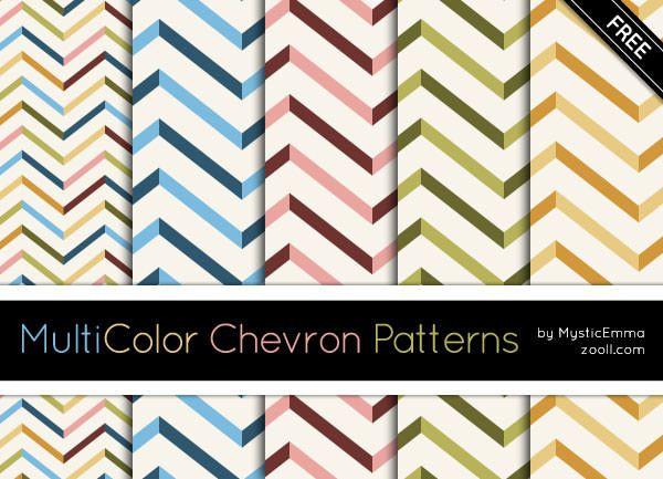 MultiColor-Chevron-Patterns-Preview