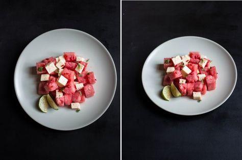 Несладкие рецепты с арбузом и дыней