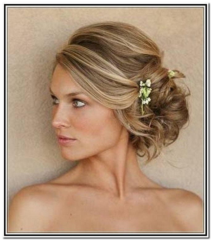 To The Side Wedding Hairstyles: Almost All Of Long Hair Types Can Be Designed For Side