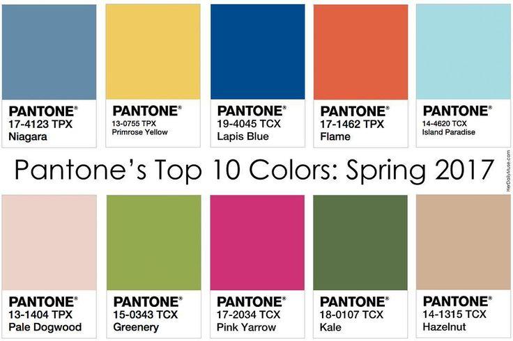 Pantone Spring/Summer 2017 Top 10!! On Instagram by  @mssierrabailey
