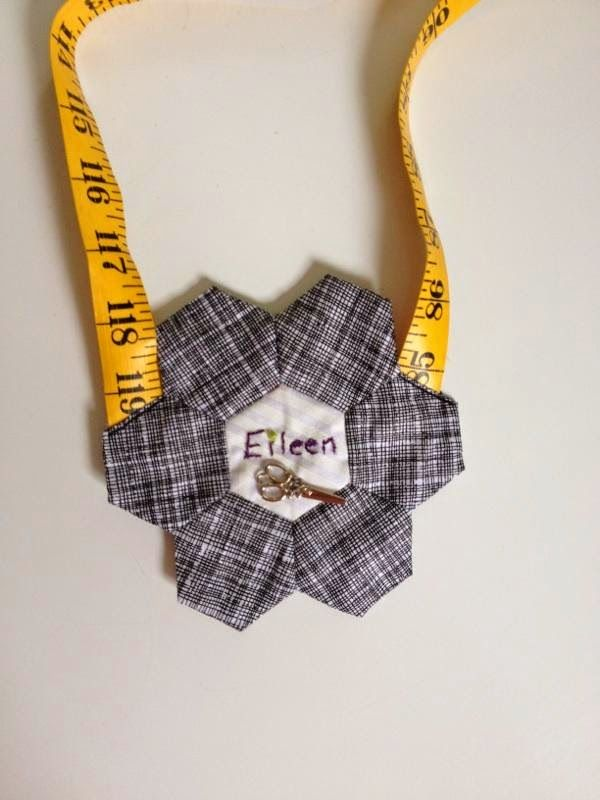 19 best Quilted Name Tag images on Pinterest | Stitching, At sign ... : quilting name tags - Adamdwight.com