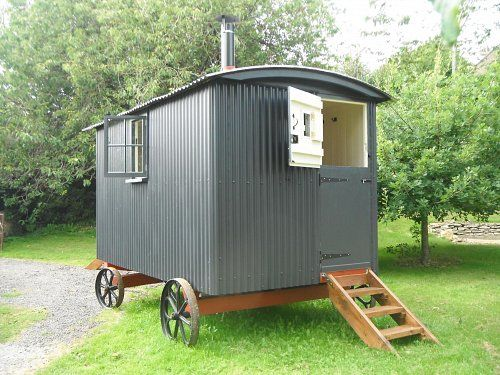 17 best ideas about shepherds hut for sale on pinterest small caravans for sale g wagon for - The mobile shepherds wagon ...
