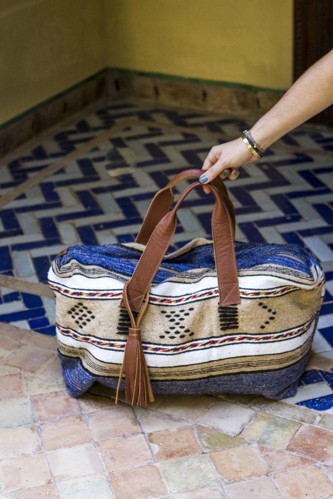 Moroccan Carpet Weekender