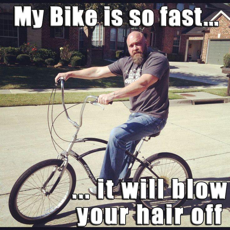 #Bike #meme #Stradafitness My bike is so fast...