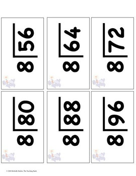 division facts mastery flash cards assessments times table times. Black Bedroom Furniture Sets. Home Design Ideas