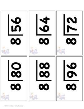 division basic facts 1 12 flash cards timed test times table math pinterest basic cards. Black Bedroom Furniture Sets. Home Design Ideas