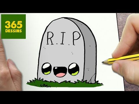 COMMENT DESSINER FANTÔME KAWAII ÉTAPE PAR ÉTAPE – Dessins kawaii facile - YouTube