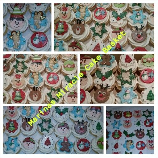 Xmas cupcakes by Marina Kirk-Osman