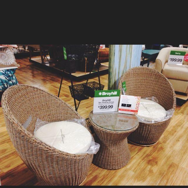 Broyhill 3 Piece Outdoor Set Home Goods Home Goods Furniture