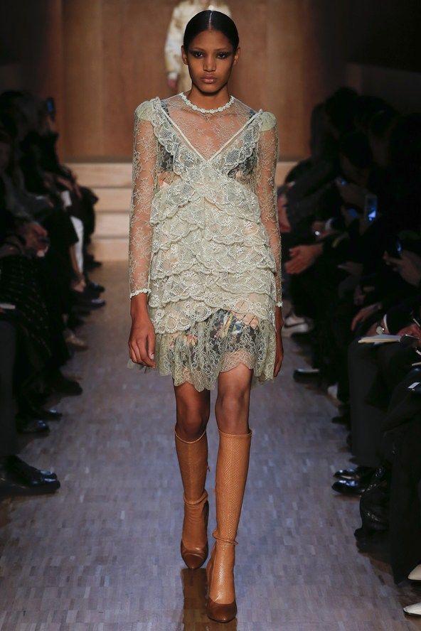Givenchy Fall 2016 Paris Fashion Week.